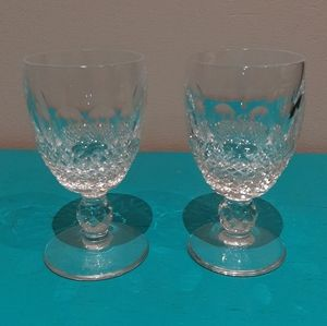 Waterford crystal Colleen set of 2 glasses